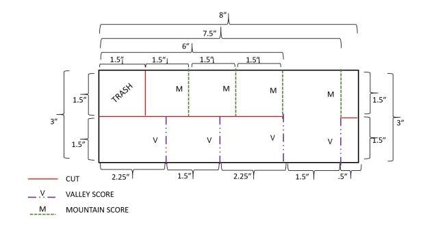 planter card measurements